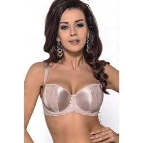 Braceless bra model 117745 Gorsenia Lingerie