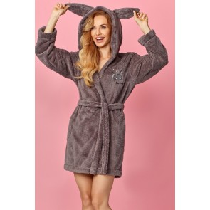 Short bathrobe model 122864 L&L collection