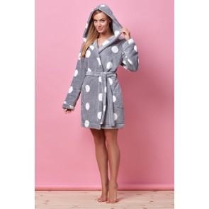 Short bathrobe model 122866 L&L collection