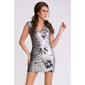 Short dress model 48871 YourNewStyle